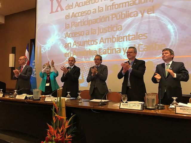 América Latina y el Caribe ya tienen su primer tratado sobre ambiente y derechos humanos