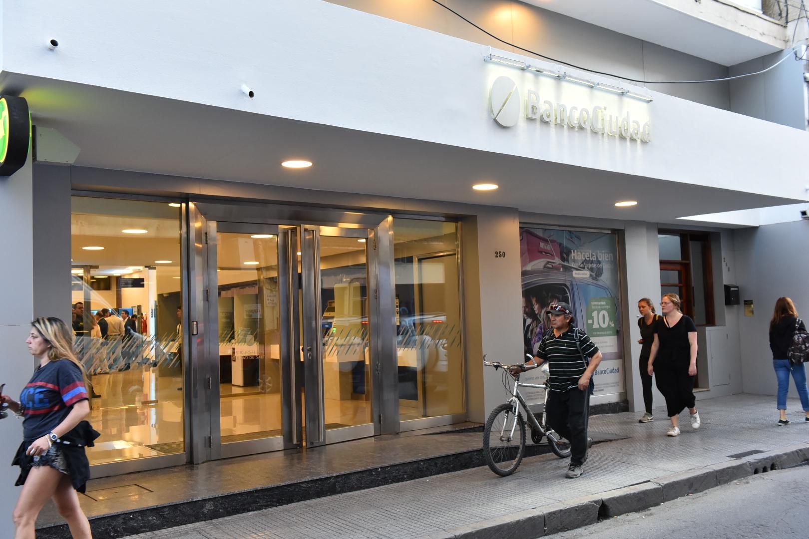 Banco Ciudad tambien en Salta Capital