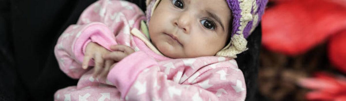 Las Naciones Unidas advierten de que la desnutrición aguda amenaza a la mitad de los niños menores de cinco años en el Yemen en 2021
